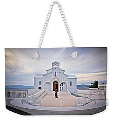 Church Of Croatian Martyrs In Udbina Weekender Tote Bag