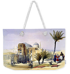 Church Of The Holy Sepulchre In Jerusalem Weekender Tote Bag
