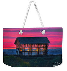 Church On The Hill Weekender Tote Bag