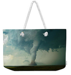 Churning Twister Weekender Tote Bag by Ed Sweeney