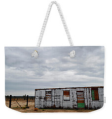 Cima Union Pacific Railroad Station Weekender Tote Bag by Kyle Hanson