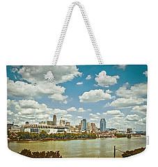 Cincinnati 4 Weekender Tote Bag