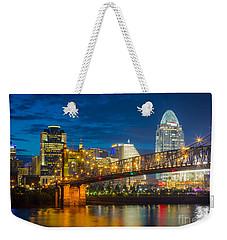 Cincinnati Downtown Weekender Tote Bag