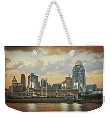 Cincinnati Ohio Vii Weekender Tote Bag