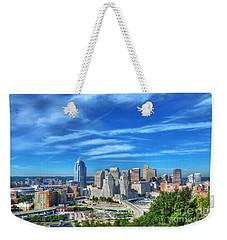 Cincinnati Skyline 2 Weekender Tote Bag