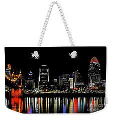 Cincinnati Skyline Dreams 3 Weekender Tote Bag