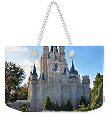 Cinderella's Castle Weekender Tote Bag by Carol  Bradley