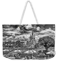 Weekender Tote Bag featuring the photograph Cinderella's Palace by Howard Salmon