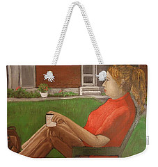 Cindy's Day Weekender Tote Bag by Reb Frost