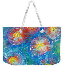 Circle Burst Weekender Tote Bag