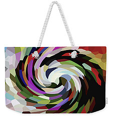 Circled Car Weekender Tote Bag