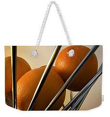 Circles And Lines Weekender Tote Bag