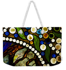 Circles Of Glass Weekender Tote Bag
