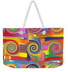Circles Of Life Weekender Tote Bag by Alec Drake