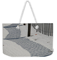 Circus Beach Fence Weekender Tote Bag