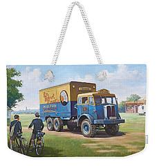 Circus Truck Weekender Tote Bag