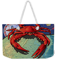Citizen Crab Of Virginia Weekender Tote Bag