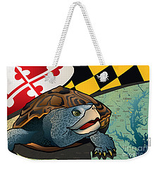 Citizen Terrapin Maryland's Turtle Weekender Tote Bag