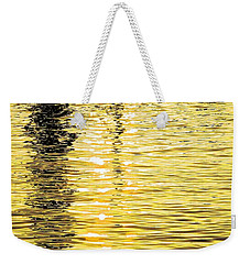 Weekender Tote Bag featuring the photograph Citrine Ripples by Chris Anderson