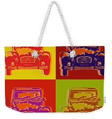 Citroen 2cv Weekender Tote Bag
