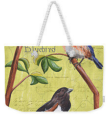 Citron Songbirds 1 Weekender Tote Bag