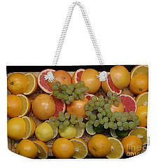 Weekender Tote Bag featuring the photograph Citrus by Michael Canning
