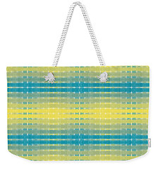 Weekender Tote Bag featuring the digital art Citrus Warp 3 by Kevin McLaughlin