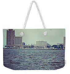 City Across The Sea Weekender Tote Bag