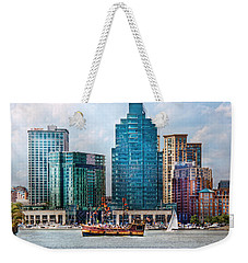 City - Baltimore Md - Harbor East  Weekender Tote Bag