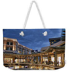 Weekender Tote Bag featuring the photograph City Creek by Ely Arsha