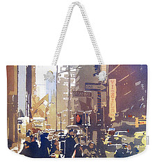City Light Weekender Tote Bag