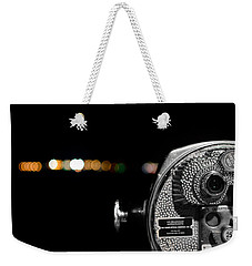 City Lights In Bokeh Weekender Tote Bag