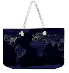 City Lights Weekender Tote Bag by Sebastian Musial