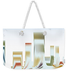 Weekender Tote Bag featuring the digital art City Mesa by Kevin McLaughlin