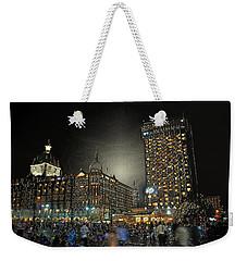 City Never Sleeps Weekender Tote Bag