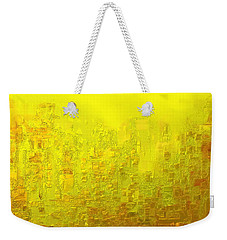 City Of Joy 2013 Weekender Tote Bag by Rabi Khan