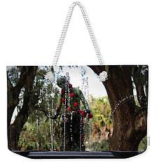 City Park Fountain Weekender Tote Bag