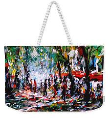 City Promenade Weekender Tote Bag