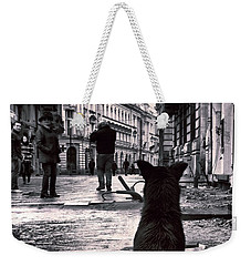 City Streets And The Theory Of Waiting Weekender Tote Bag