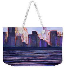 City Sunset Weekender Tote Bag