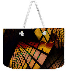 City View Abstract Weekender Tote Bag
