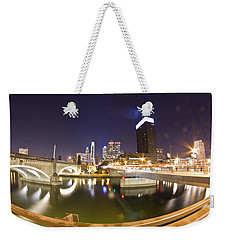 City's Reflection Weekender Tote Bag