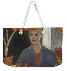 Claire's Amaryllis Weekender Tote Bag