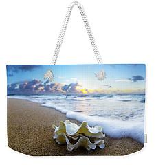 Clam Foam Weekender Tote Bag