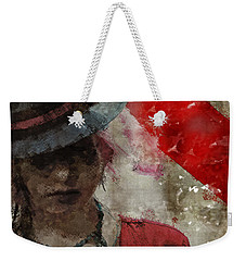 Clandestine Weekender Tote Bag by Galen Valle