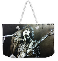 Eric Clapton - ' Clapton ' Weekender Tote Bag by Christian Chapman Art