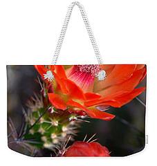 Claret Cup Cactus Weekender Tote Bag