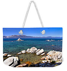 Clarity - Lake Tahoe Weekender Tote Bag