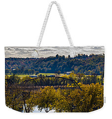 Clarksville Railroad Bridge Weekender Tote Bag