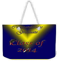 Class Of 2014 Card Weekender Tote Bag